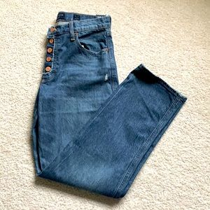 Lucky Brand mid rise straight jeans